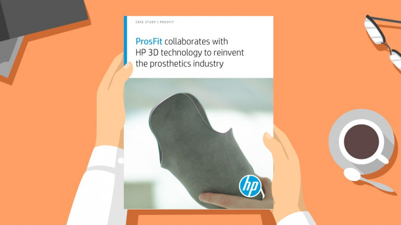 HP published its long-awaited case study on ProsFit and how it is Changing for Good the prosthetics industry!